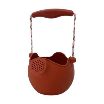 Scrunch-watering-can - rust