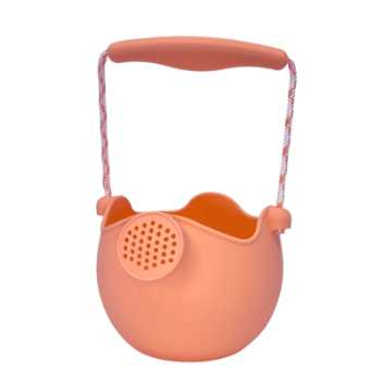 Scrunch-watering-can - koral