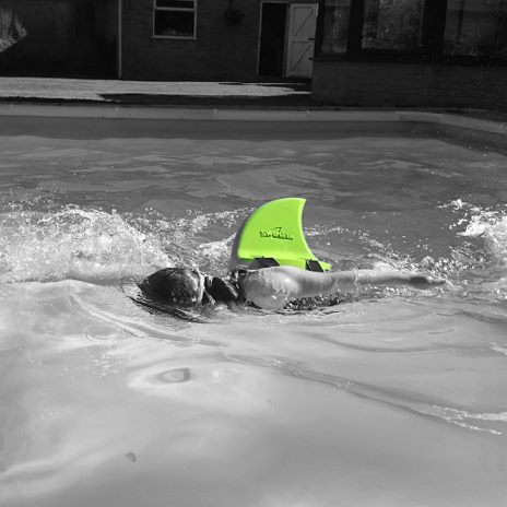 Hajfinnen SwimFin - lime - 4
